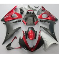 Motorcycle Injection mold Fairing For Yamaha R6 YZF 2005 YZFR6 YZF-R6 05 Full Fairings Kit Bodywork Red Matte Black UV Painted