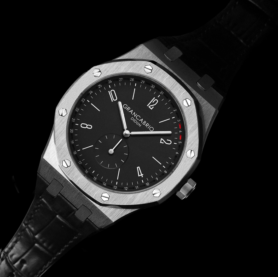 DIDUN Men Watches Top Brand Luxury Quartz Watch Rosegold Male Fashion Business Watch 30m Waterproof Luminous