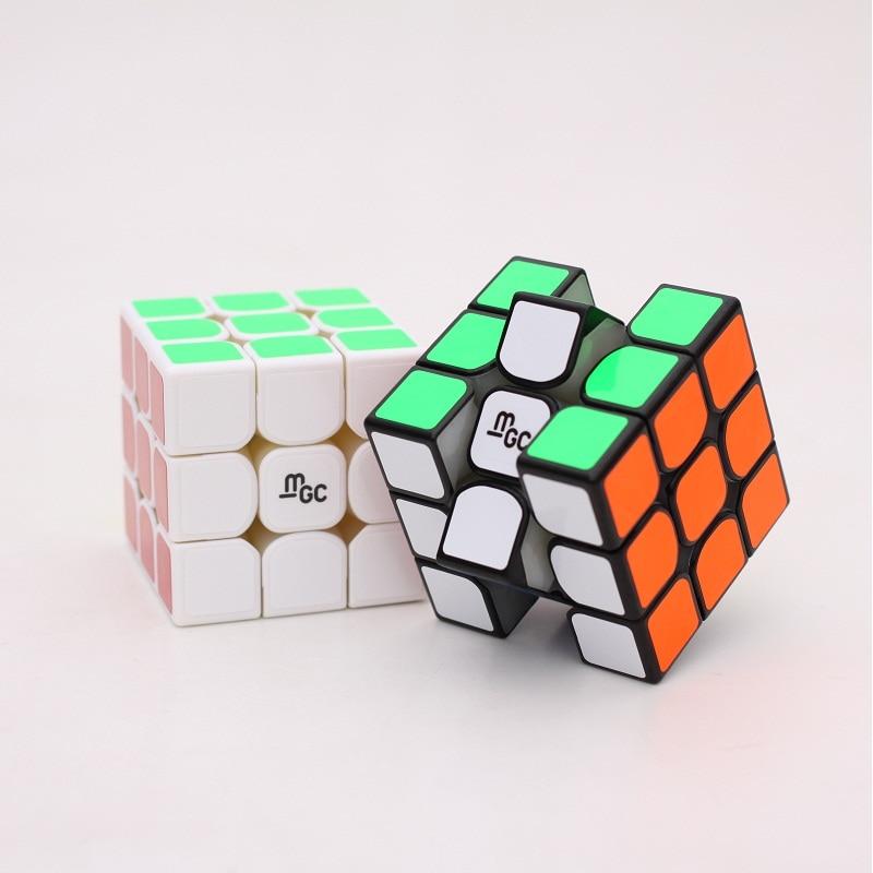 Hot Sell Original Yj Yongjun MGC M 3x3x3 2x2x2 Magnetic 2x2 MGC3 II V2 3x3 Speed Magic Cube Professional Twist Educational Toys