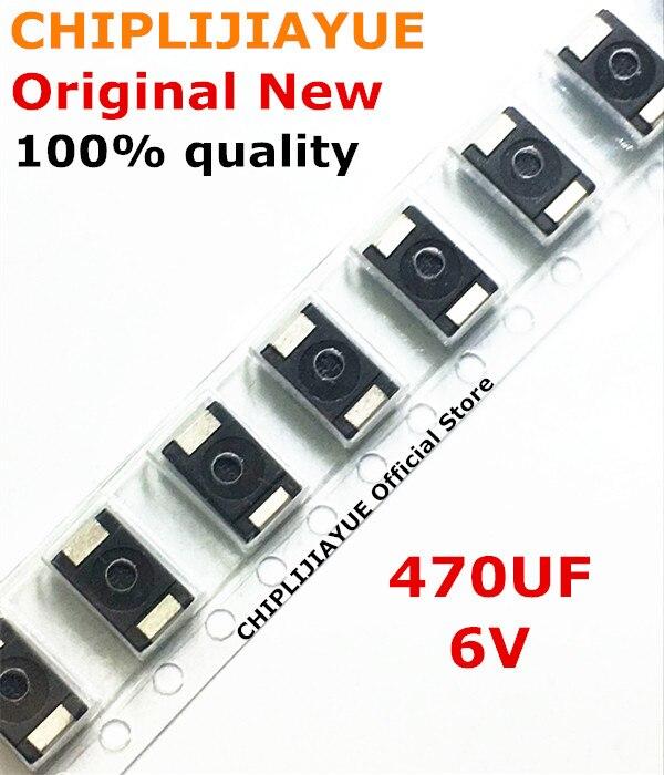 300piece 100 New 470UF 6V 470 6 470 6 3V SMD Tantalum Capacitor Polymer POSCAP