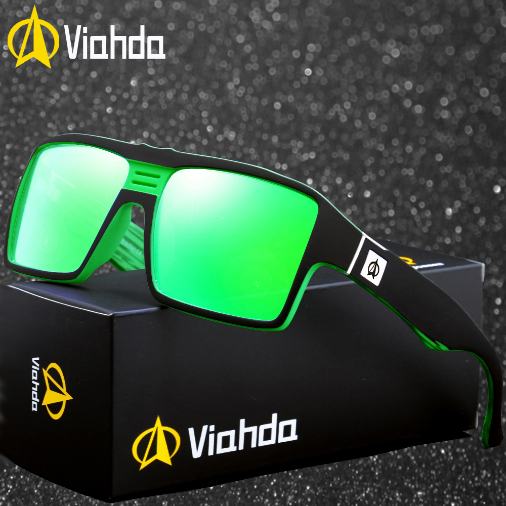 Viahda New Sunglasses Men Male Cool Outdoor Sport Sun Glasses For Driving Goggles Eyewear Gafas De Sol Hombre