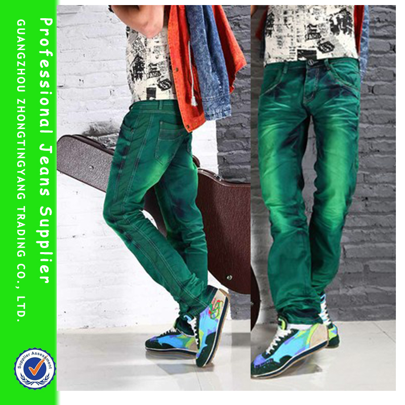 green jeans for men - Jean Yu Beauty