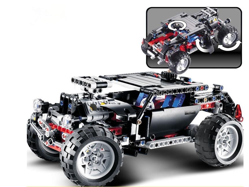Decool 3340 Technique Transport Hummer SUV Building Block Sets Modele Briques pour L'education de BRICOLAGE Jouets Pour 8081 decool 2017 new 3340 technic transport