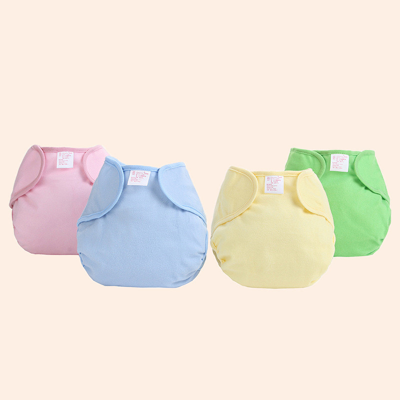 Hot Wholesale New Baby Panties Diaper Washable Reusable Cloth Nappy Diaper Baby Clothing Adjustable