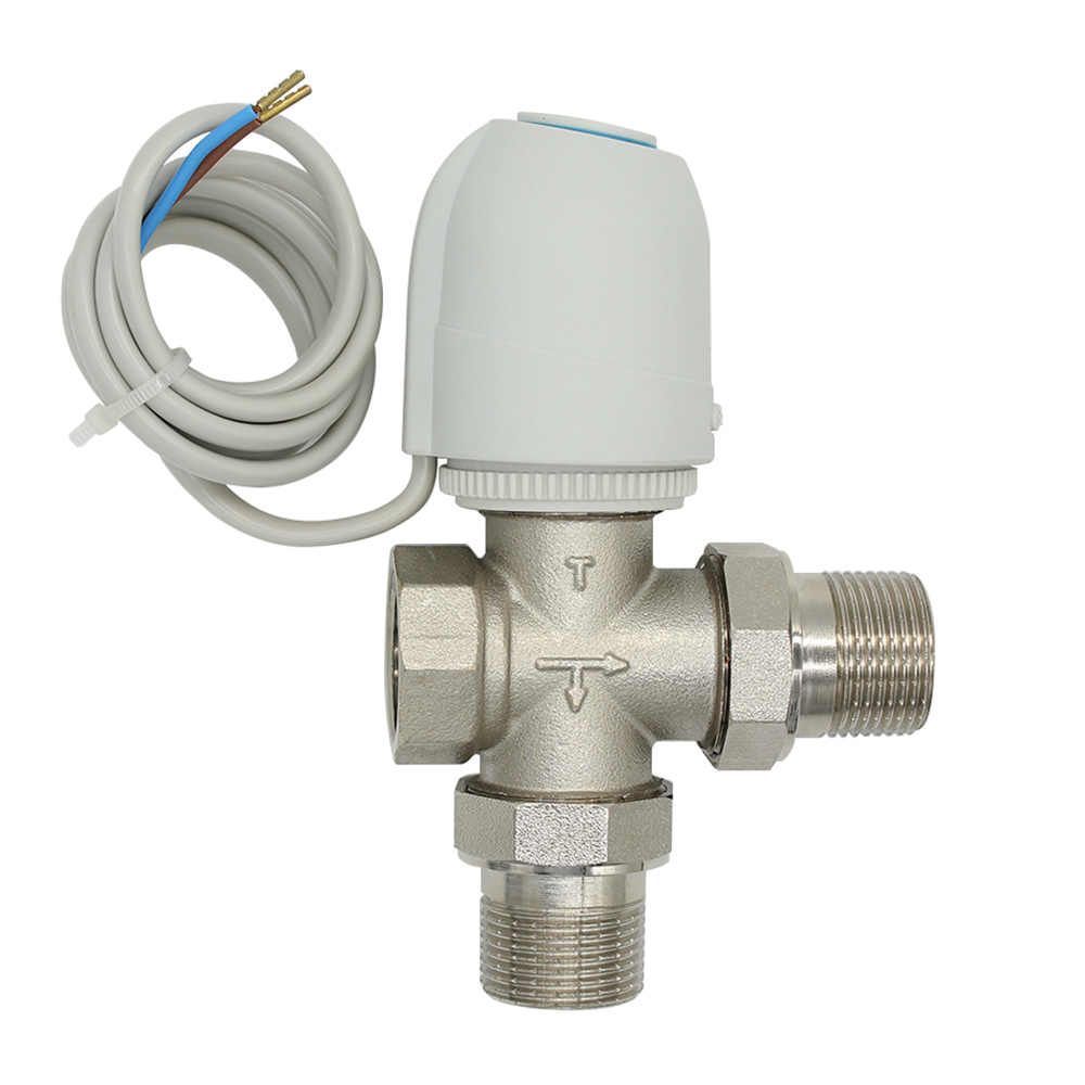 230V  Normally Open  Normally close  Electric Thermal Actuator for underfloor heating  three way  valve DN15-DN25 24v normally open normally close electric thermal actuator for room temperature control three way valve dn15 dn25