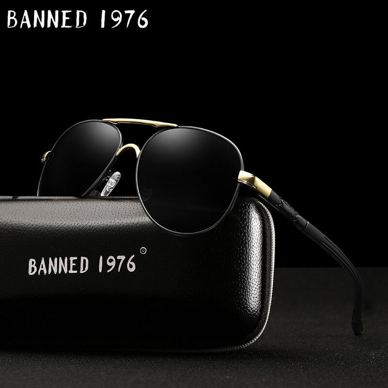 2018 Neue Top Qualität Aluminium Hd Polarisierte Sonnenbrille Uv400 Männer Fahren Metall Rahmen Sonnenbrille Männliche Brille Frauen Kühlen Oculos