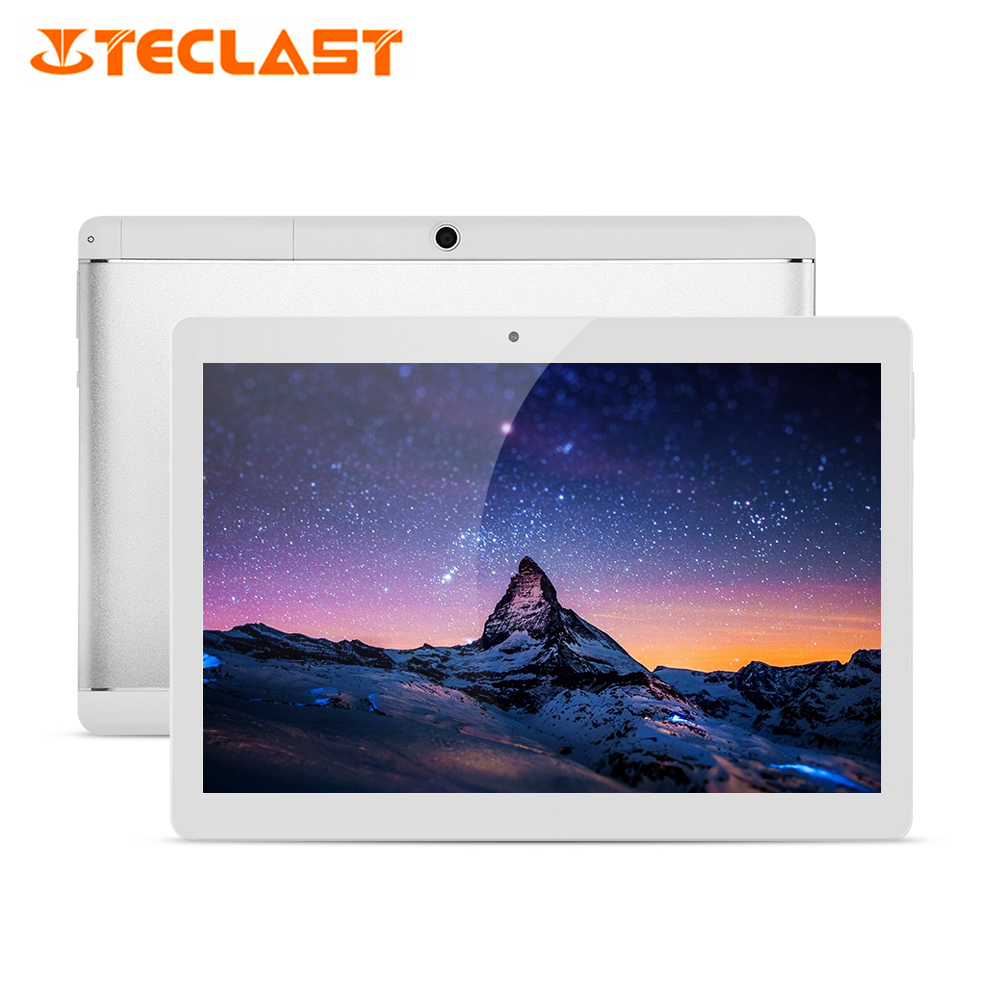 Teclast X10 Quad Core 10.1 Inch HD 3G Phablet Android 6.0 MT6580 1.3GHz 1GB RAM 16GB ROM OTG 5.0MP Bluetooth 4.0 Metal Tablet PC