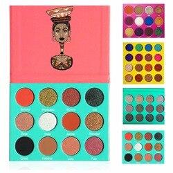 LUTER Pigment Fard À Paupières Blush Palette Étanche La Création de Charmants Smokey Yeux Populaire Ombre À Paupières Meilleur Cadeau Pour Nubian Couleur
