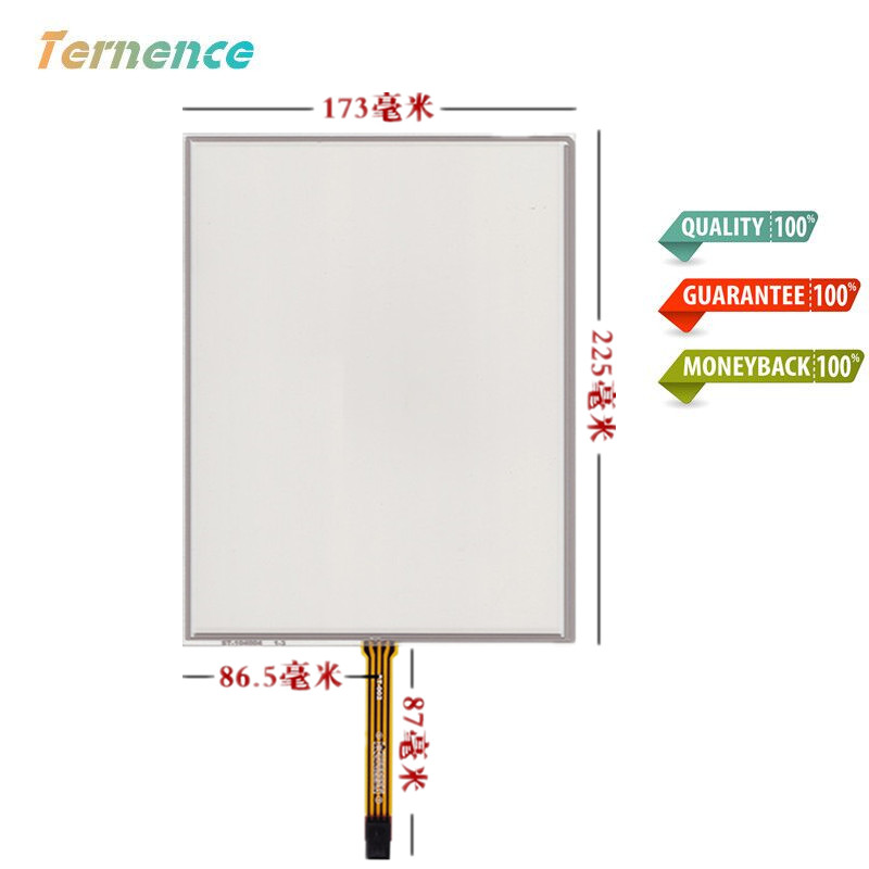 Skylarpu 10.4inch 4 wire Touchscreen 225mm*173mm Resistance Touch panel Glass Digitizer Medical equipment Handwriting screen new 10 4 inch 225mm 173mm touch screen panels for amt9509 industrial medical atm touch screen digitizer panel free shipping