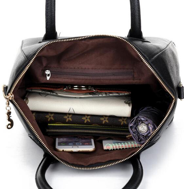 Women's Trendy Patchwork Messenger Shoulder Bag