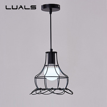 Modern Simple Pendant Lamp Restaurant Iron Art Pendant Lights Creative Fashion Home Living Room Indoor LED Lighting