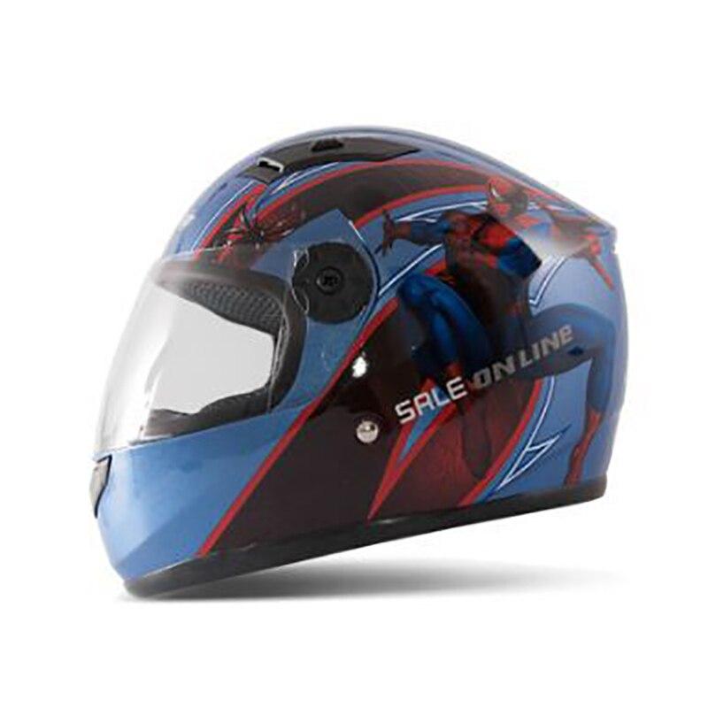 Motorcycle Childrens Helmets Moto Full face Child helmet motocross Winter kids helmet Removeable liner helmets