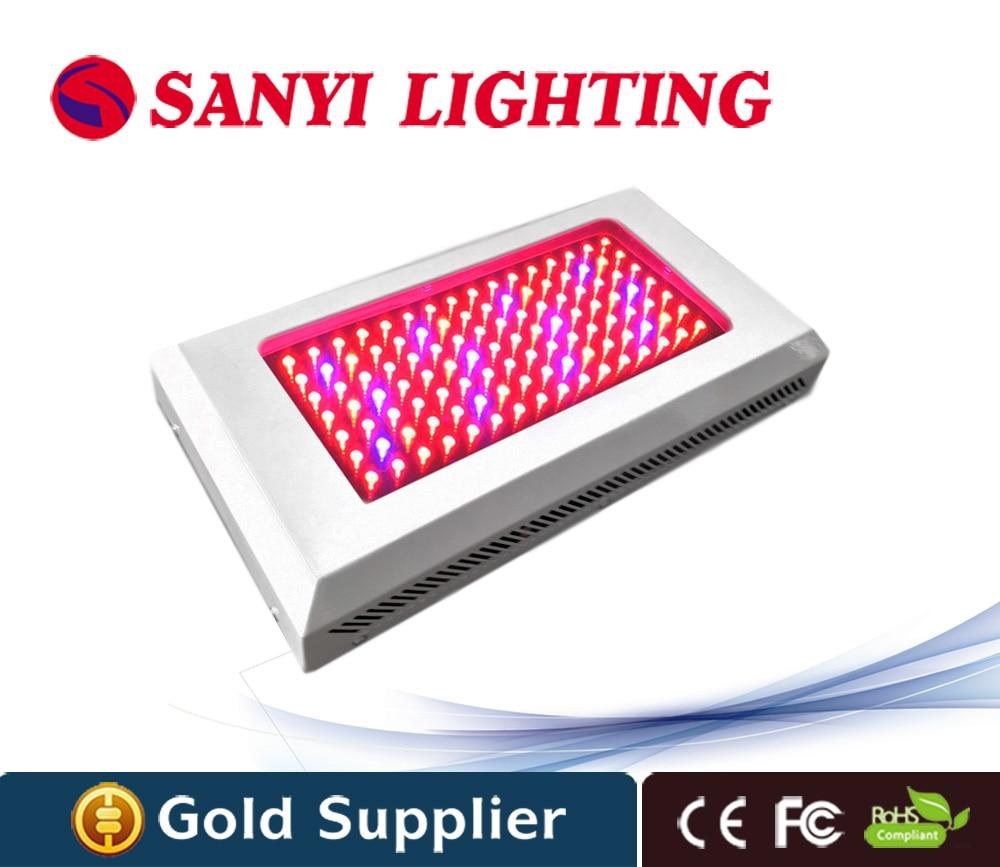 Free EU Plug 120W 85 265V High Power Led Grow font b Light b font Lamp