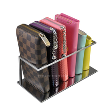 Free Shipping Metal Wallet Display Stand Purse Display Wallet Holder Wallet Shelf Wallet Rack WA009