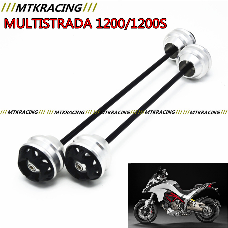 MTKRACING for Ducati MULTISTRADA 1200/1200S 2010-2015 CNC Modified Motorcycle Front wheel drop ball / shock absorber 1200