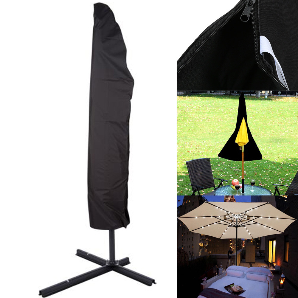 Outdoor patio furniture shade - Outdoor Patio Umbrella Beach Cover Bag Fit 6ft To 11ft Protective Canopy Zipper New U70523 Drop