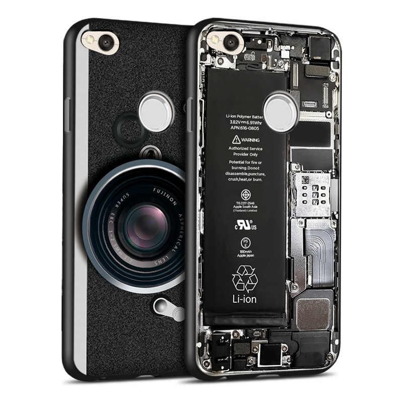 Ультра тонкий 3D старый стиль для Xiaomi Redmi 4X Note 4X Мягкий ТПУ силиконовый сломанный чехол для камеры для Redmi версия 4 глобальная версия