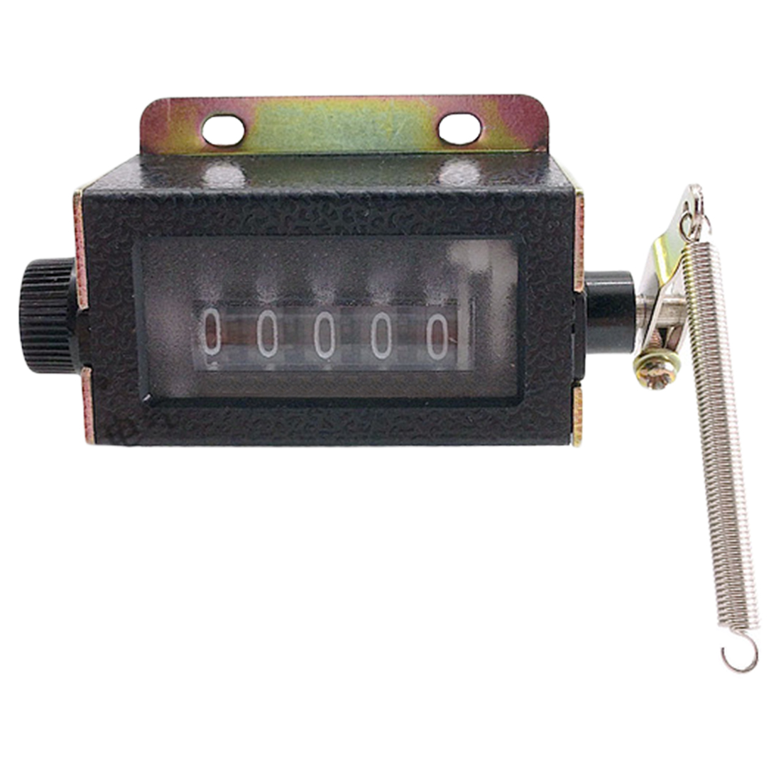 High-quality 5 Digits Resettable Mechanical Pull Stroke Mechanical Hand Tally Stroke Click Counting Mount Counter Manual
