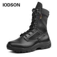 Mode Armee Stiefel Männer Military Boots Tactical Combat Boots Wasserdichte Sommer/Winter Desert Boots Größe 35-46 IDS658