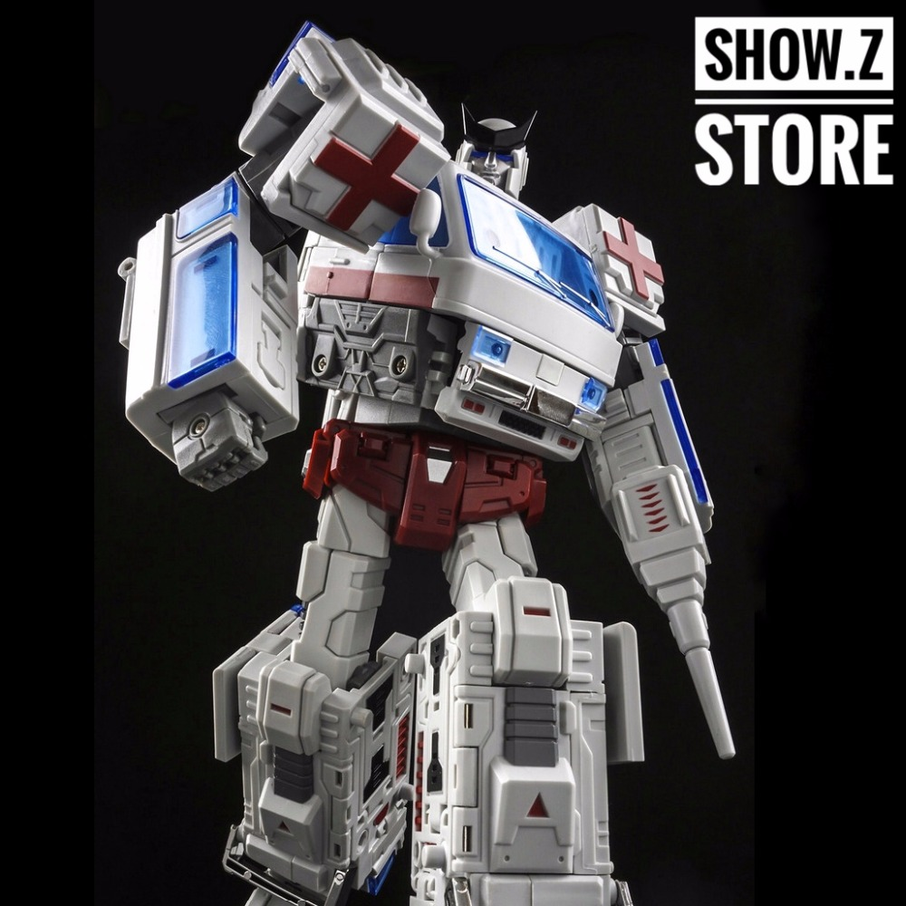 [Show.Z Store] TFC Old Time OS-03 Medic Ratchet Ambulence Transformation Action Figure [show z store] [pre order] tfc toys trinity force tf 03 wildchaser blacker transformation action figure
