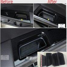 4pcs / set For Ford Mondeo 2014 2015 / Fusion 2014 2015 Side Door Armrest Storage Box Inner Door Panel Storage Tank
