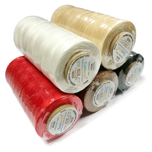 Sanbest High Quality Durable 1mm 150D/16 Leather Waxed Thread Cord for DIY Handicraft Tool Stitching 260 Meter 22 Colors