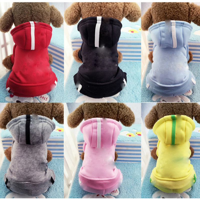 Dog Clothes For Small Dogs Winter Puppy Warm Pet Coat Jackets Pet Sports Hoodies Chihuahua Pug French Bulldog Clothing Outfits