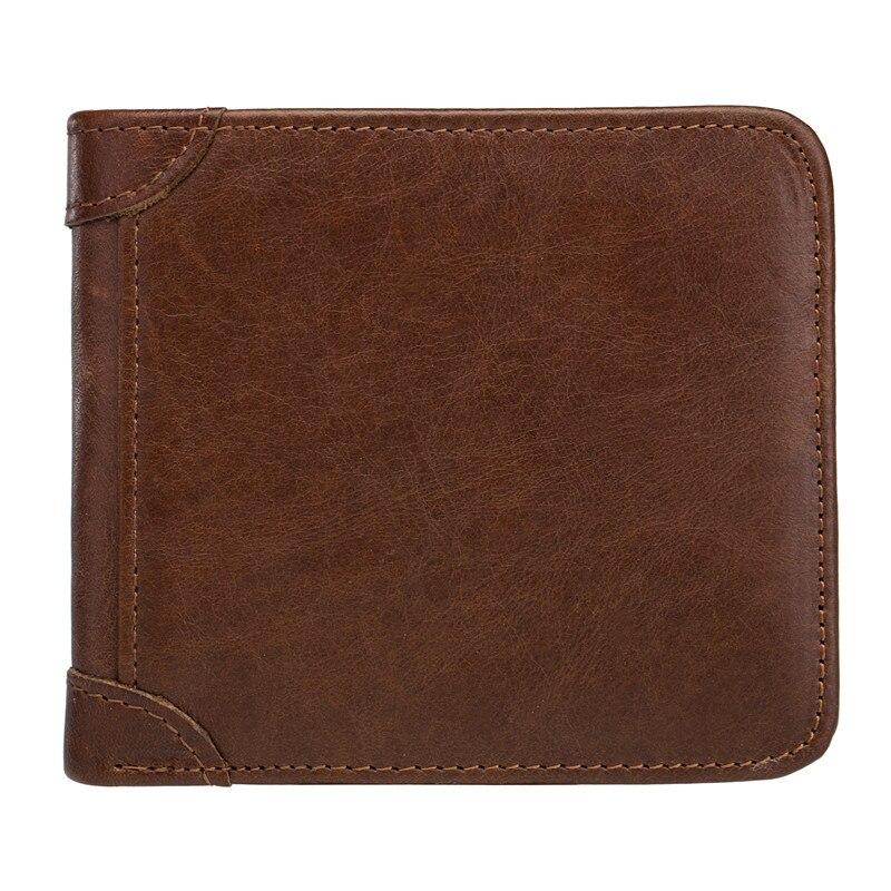 Genuine Leather Men/'s Wallets High Quality Purse Man Coin Pocket Bag Card Holder