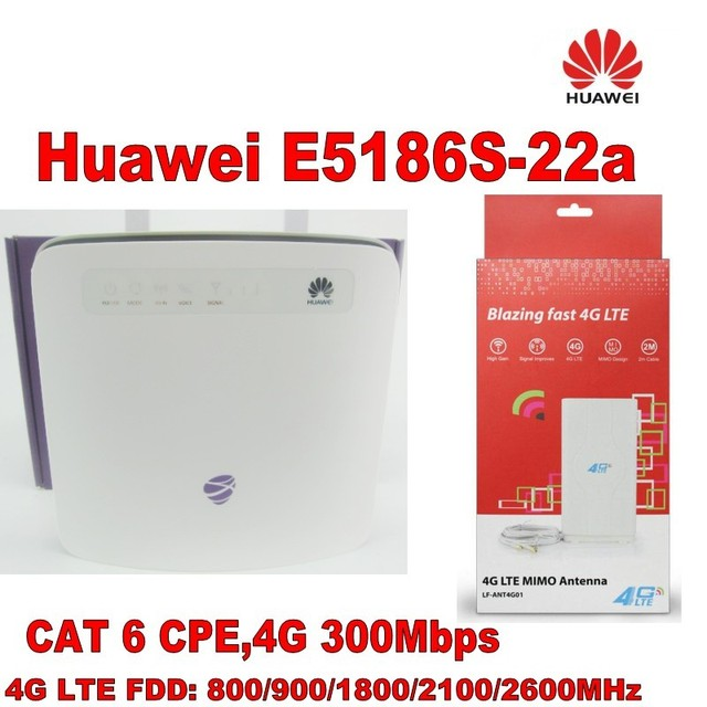 Huawei e5186s 22a vpn setup