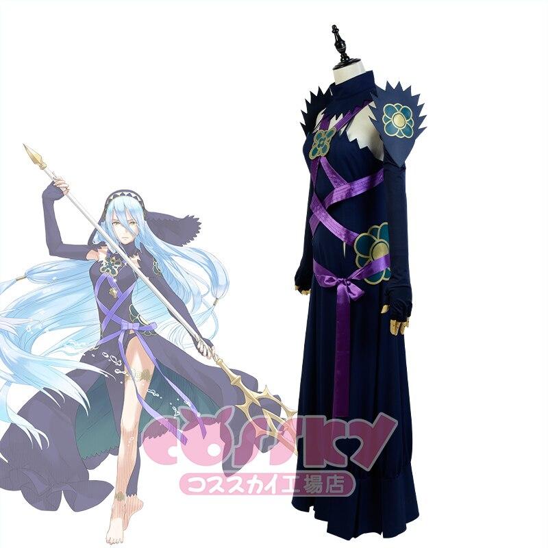 Fire Emblem Fates Azura Dark Nohr Cosplay Kostüm Halloween Uniform