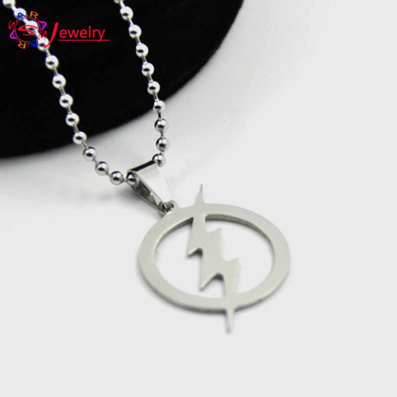 FYSARA  Movie  Series Jewelry Justice League Superman Dwyane Necklace Lightning Flash Pendant Necklace For Women Men Wholesale