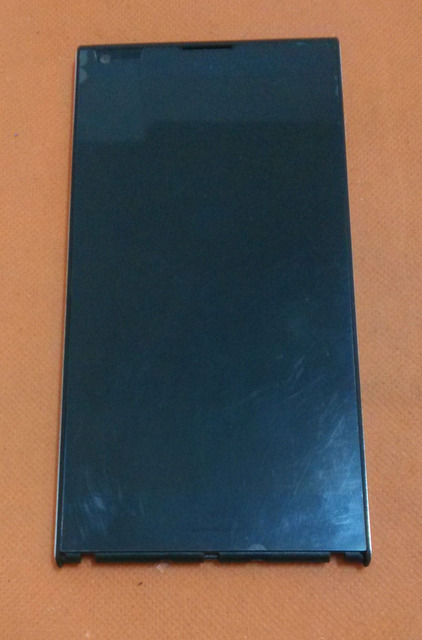 Used Original LCD Display +Digitizer Touch Screen+ Frame for Doogee DAGGER DG550 5.5 inch OGS MTK6592 Octa Core Free shipping