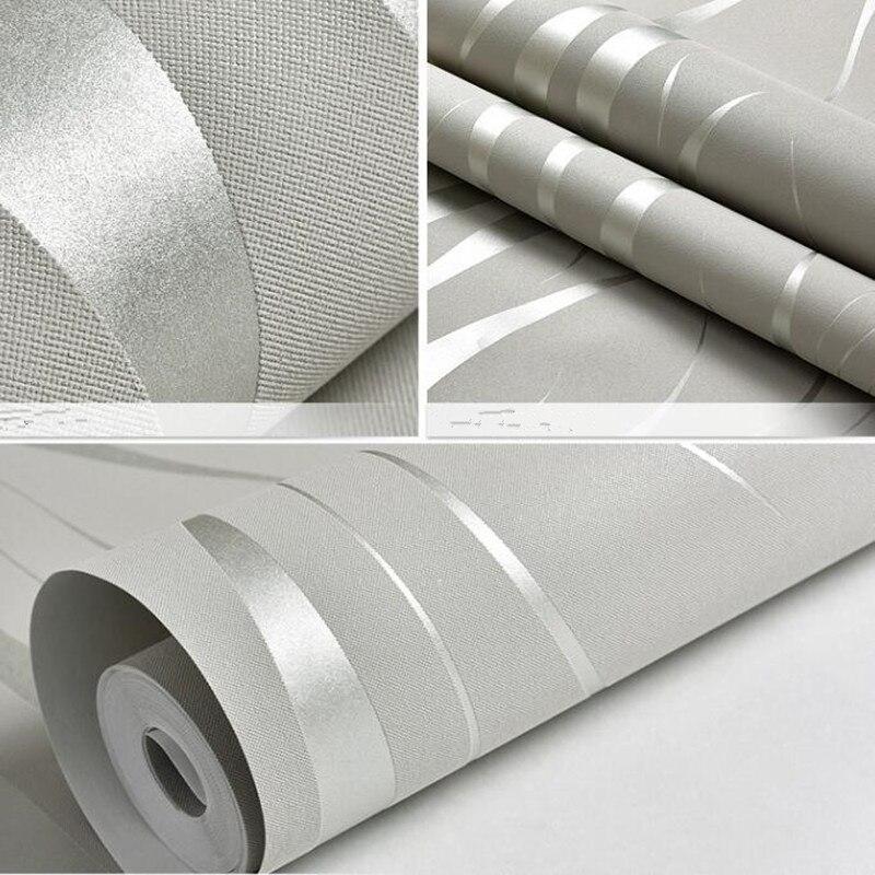 Vague courbe rayure 3D non-tissé papier peint pour salon chambre fond papier peint décor à la maison - 6