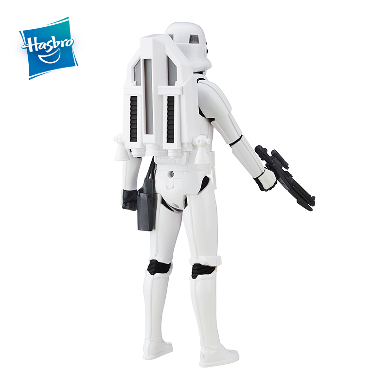 Hasbro Star Wars Interactech Imperial Stormtrooper Figure With Sound Phrases&Lighting Voice Action Figure Collection Model Boys  1