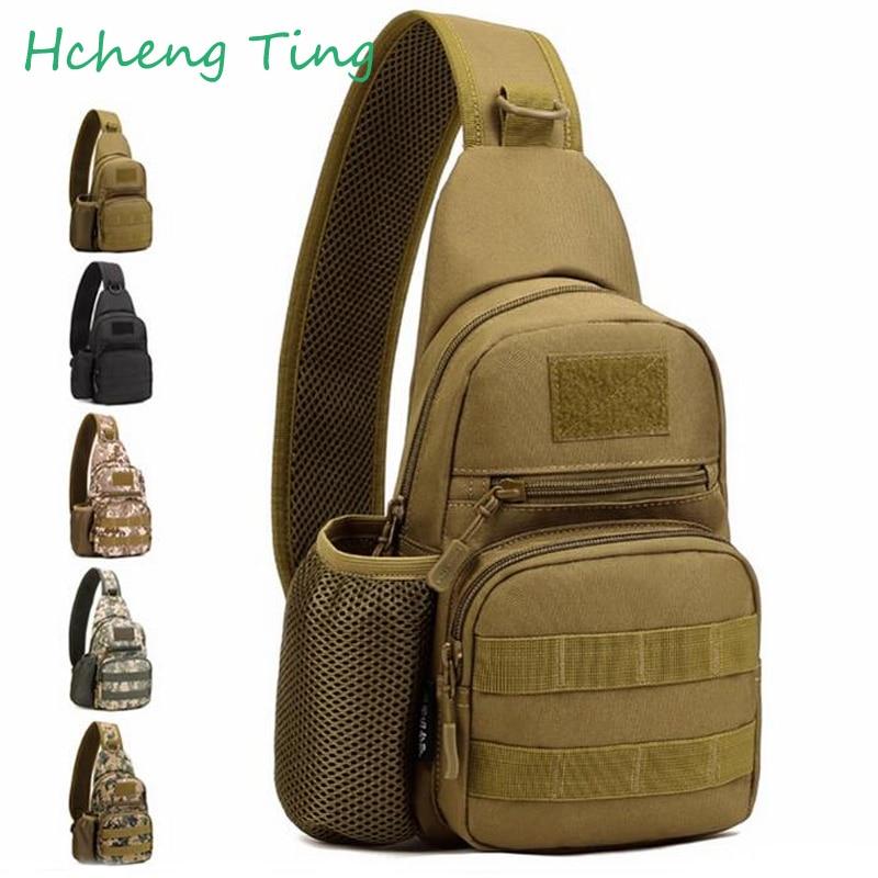 Men 1000D Nylon Military Luggage font b Bags b font Water Bottle Shoulder Messenger Sling Pack