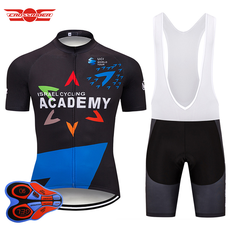2018 Pro Team Israel Cycling Jersey Set MTB Bicycle Clothing Bike Wear Clothes Breathable Mens Short Maillot Culotte Sports Suit