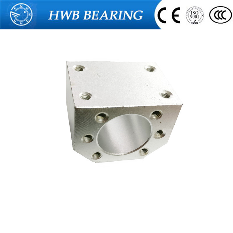 Free Shipping 1pcs RM1605 nut housing bracket holder aluminium alloy material for 16mmball screw SFU1605 SFU1604 SFU1610Free Shipping 1pcs RM1605 nut housing bracket holder aluminium alloy material for 16mmball screw SFU1605 SFU1604 SFU1610