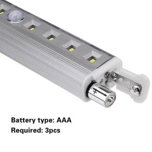 Image 4 - Coquimbo luz con Sensor de movimiento, 8 LED, funciona con pilas, móvil sin cables, imán portátil, luces nocturnas para armario, pasillo, escalera