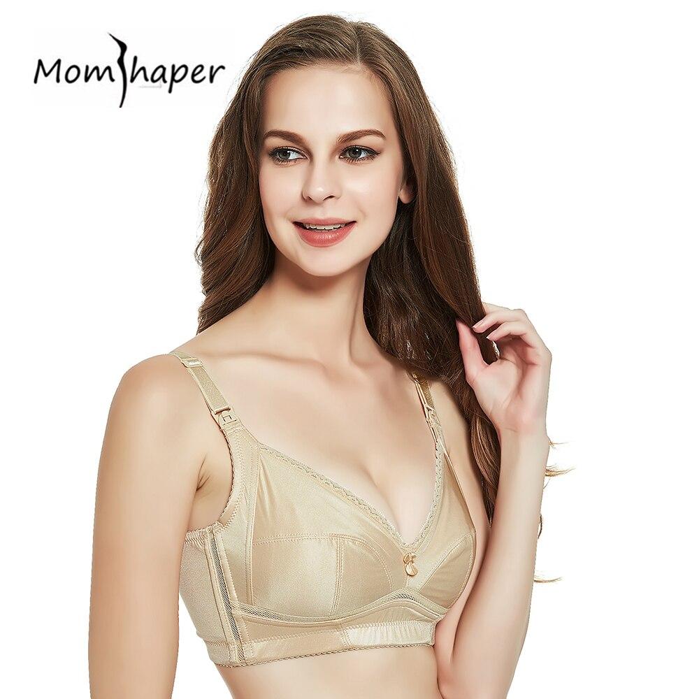 e42f991e0 Nursing bra Maternity Comfort Cotton Women Breastfeeding No steel support  Bra 2018 Pregnant Clothes Women Removable Underwear-in Maternity   Nursing  Bras ...
