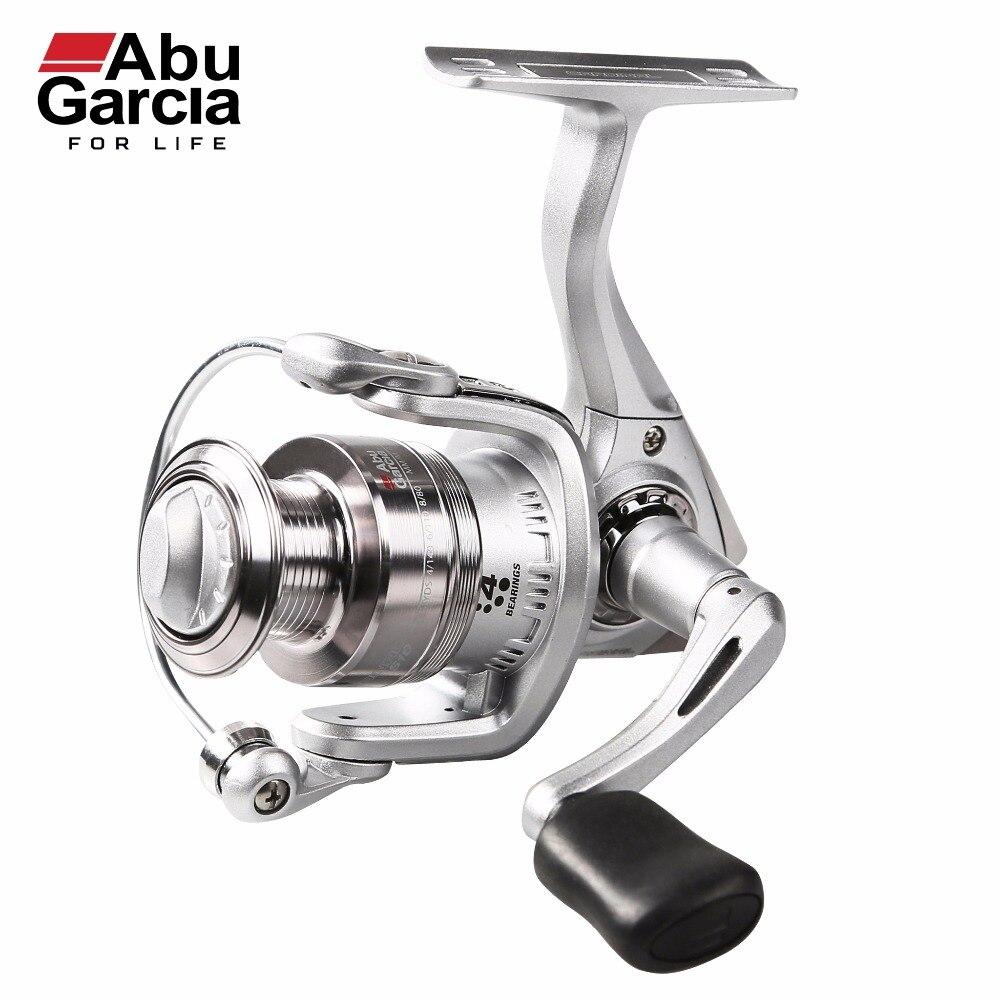 Abu Garcia 100% Original CARDINAL S Spinning Fishing Reel 500-6000 Front-Drag Fishing Reel 3+1BB 2017 new abu garcia 100