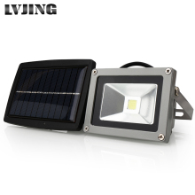 COB LED Solar Light Outdoor LED Solar Powered Garden Lights Waterproof Floodlight Spotlight Lamp bulbs spot light on solar panel