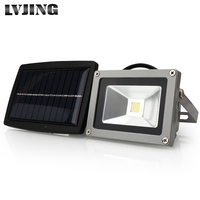 COB LED Solar Light Outdoor LED Solar Powered Garden Lights Waterproof Floodlight Spotlight Lamp bulbs spot light on solar panel