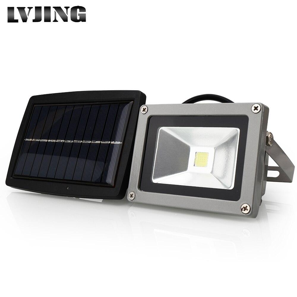 cob conduziu a luz solar ao ar livre conduziu a energia solar luzes do jardim a
