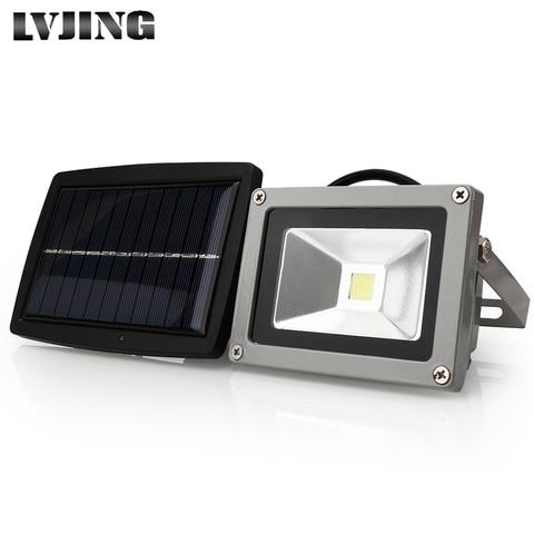 cob conduziu a luz solar ao ar livre conduziu a energia solar luzes do jardim