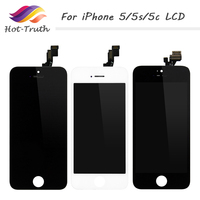 Hot Truth AAA Quality For IPhone 4 4S 5 5C 5S LCD 3 5 4 Inch