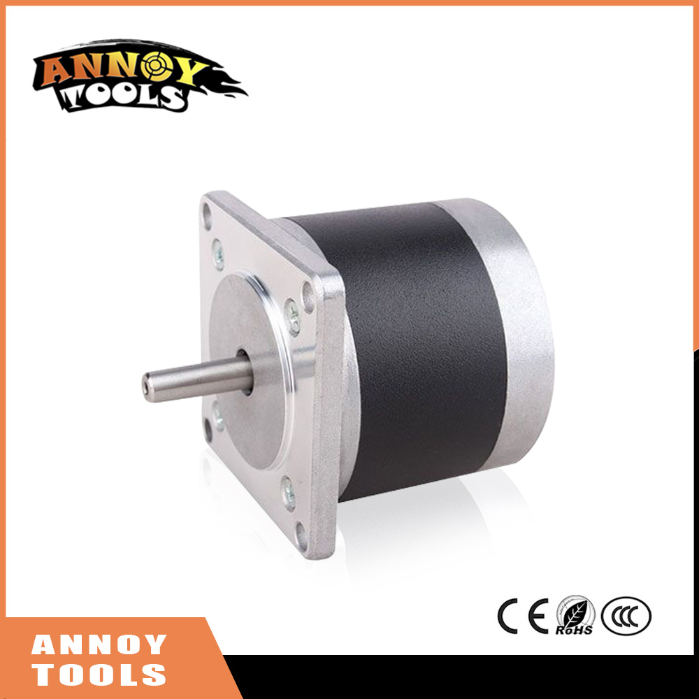 ФОТО ANNOYTOOLS nema23 57HY 2 phase 1.8degree round stepper motor 6V 1.2A 56mm 57HY56-1206 DIY CNC Machine 3D printer