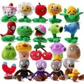 20 unids/set plantas contra zombis rellenaron peluche juguetes juegos moda PVZ juguetes muñeca para regalos de los niños juguete del partido