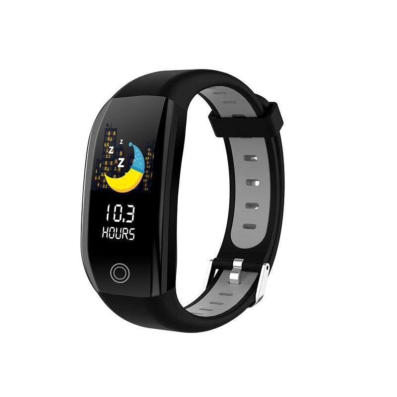 Nouveau populaire 1.14 ''grand écran IP68 étanche bracelets intelligents fitness Tracker Bracelet Bracelet intelligent pour Android et IOS - 2