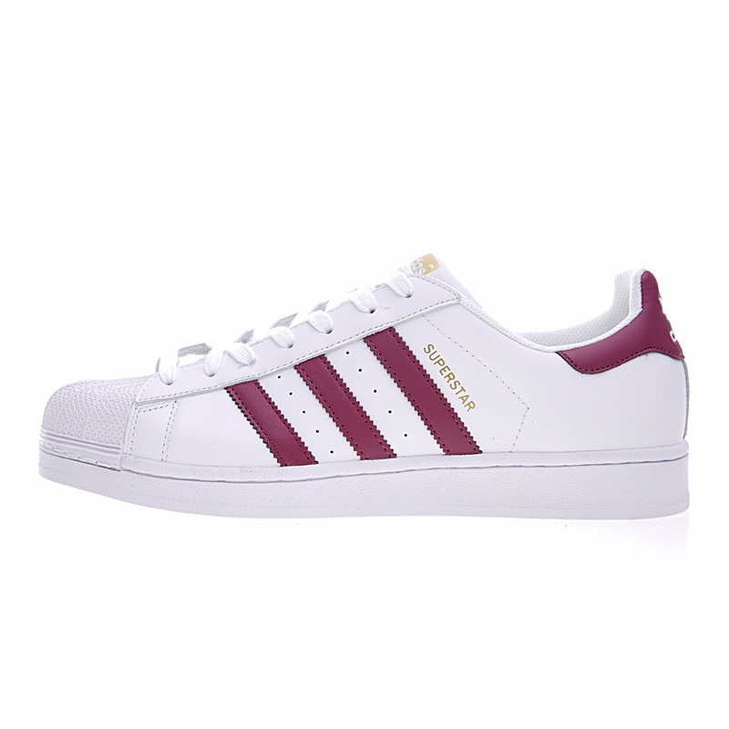 save off 15eb6 e1abf ... sweden adidas superstar gold label womens skateboarding shoes color red  non slip lightweight breathable bb2146 s81015