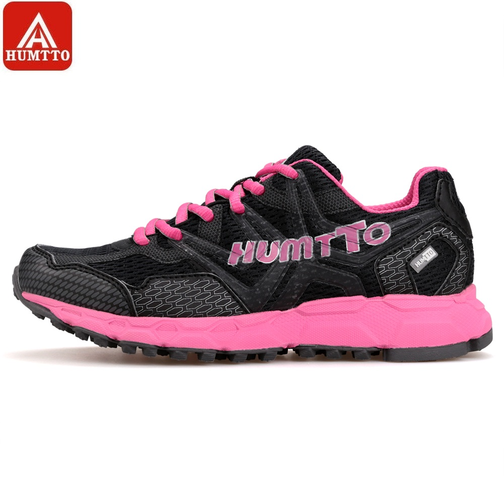 284858a63 HUMTTO Running Shoes Women Light Outdoor Sports Shoes Low Lace-Up  Cushioning Marathon Professional Breathable Sneakers